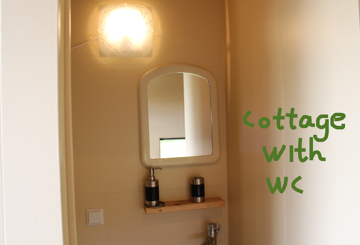 cottage with wc
